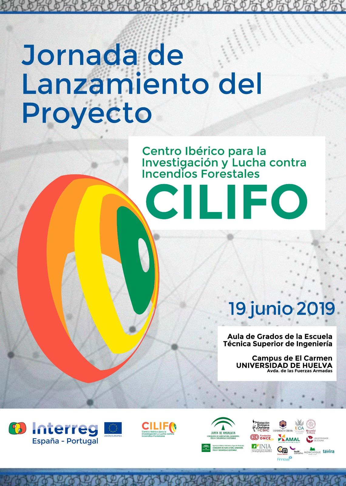 Cartel jornada de lanzamiento del proyecto CILIFO